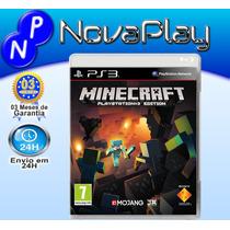 Jogo Minecraft Para Play3 Pt Br Mojang Frete Grátis