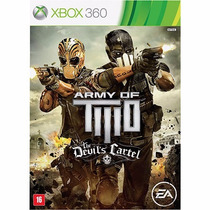 Army Of Two The Devil´s Cartel Xbox 360 Ntsc Lacrado