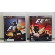 Jogo Ps3: Formula 1 - 2010 E 2011 (kit 2 Jogos)