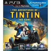 Ps3 - The Adventures Of Tintin - Midia Fisica - Semi Novo