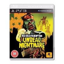 Red Dead Redemption Undead Nightmare - Ps3 - Disco - Zumbi