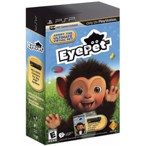 Jogo Eyepet Com Camera Para Playstation Portatil A5806