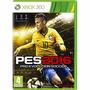 2 Jogos Pes 16 + Fifa 16 Midia Fisica Todos Dublados Xbox360