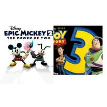 Disney Epic Mickey 2 + Toy Story 3 Ps3(contapsn)