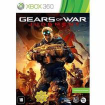 Gears Of War Judgment Xbox 360 Totalmente Em Português Novo!