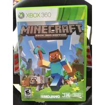Jogo Minecraft Xbox 360 Edition Original, Pronta Entrega