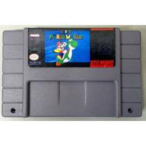 Cartucho Super Mario World Super Nintendo Snes Frete Grátis!