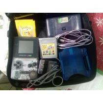 Game Boy Color Com Pokémon Original E 52 Jogos E Acessorios