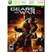Gears Of War 2 Xbox 360 Impecável, Sem Riscos, Original