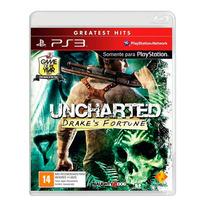 Uncharted Drakes Fortune - Ps3 - Português - Mídia Física