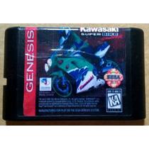 Kawasaki Superbike Challenge Fita Mega Drive Frete Grátis