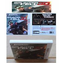 Splinter Cell 3d Nintendo 3ds Americano, L A C R A D O
