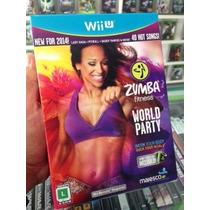 Zumba Fitness World Party Wii-u Lacrado Original Midia Fisic