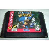 Mega Drive: Sonic 3d Blast Original Americano!!