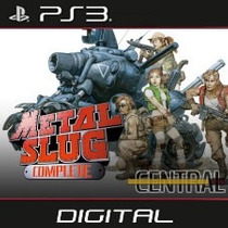Metal Slug Collection Playstation 3 Psn Ps3 - 7 Jogos!