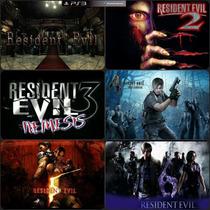 Resident Evil 1, 2, 3, 4, 5, 6 Ps3 Código Psn Receba Hoje
