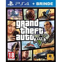 Grand Theft Auto V Gta 5 Em Português Mídia Física Ps4