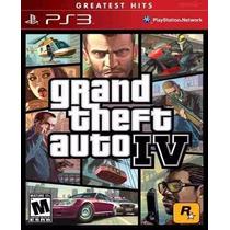 Gta 4 Grand Theft Auto Iv 4 Ps3 Original Pronta Entrega!!!!