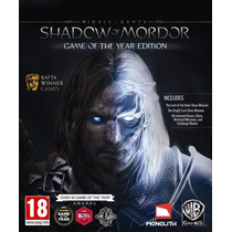 Shadow Of Mordor - Game Of The Year Edition Pc Frete Grátis.