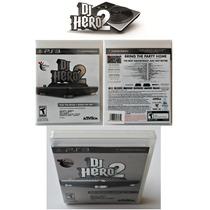 Dj Hero 2 Original Ps3 Novo, Lacrado Mídia Física