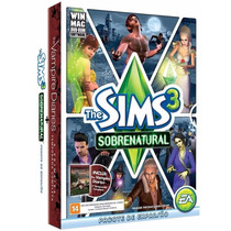 The Sims 3 Sobrenatural + Vampire Diaries Dvd Filme Original