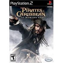 Piratas Do Caribe No Fim Do Mundo Ps2 Patch + 2 De Brinde