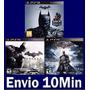 Batman Arkham Trilogia Ps3 Código Psn