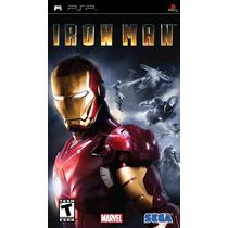 Iron Man 2 Psp Playstation Jogo Game