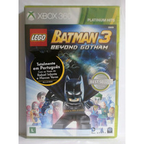Lego Batman 3 - Jogo Inga Xbox 360 - Novo Lacrado