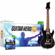 Guitar Hero Live Bundle - Xbox 360 (jogo + Guitarra) Lacrado
