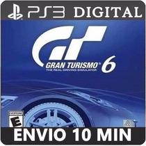 Gran Turismo 6 Ps3 Psn Código Dublado Em Português