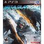 Jogo Ps3 - Metal Gear Rising - Usado