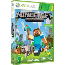 Minecraft Xbox 360 Midia Fisica Original + Frete Gratis
