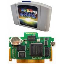 Flashcard Everdrive 64 V3 Com Cic 6102 Krikkz P/ Nintendo 64