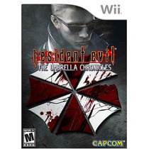 Resident Evil: The Umbrella Chronicles Wii Lacrado Original