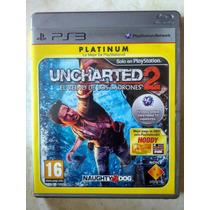Uncharted 2 Totalmente Em Português Ps3 Raro