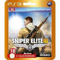 Sniper Elite Iii Em Oferta! (código Ps3)