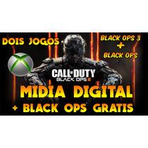 Black Ops 3 + Black Ops 1 Grátis Mídia Digital Envio Rápido!