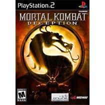 Mortal Kombat Deception Ps2 Patch - Compre 1 E Leve 2