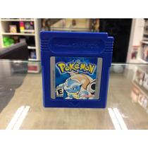 Pokemon Blue Gameboy Americano 100% Funcionando Original