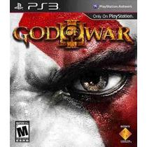 God Of War 3 Mídia Física Ps3 Original Portugues Brasil