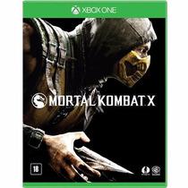 Jogo Xboxone Mortal Kombat X Midia Fisica Original Lacrado