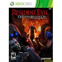 Resident Evil Operation Raccoon City - Original Impecável
