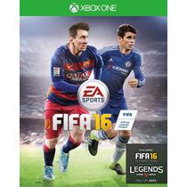 Fifa 16 Xbox One Jogo Novo Fisica Portugues Ptbr Xbox