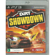 Jogo Dirt Showdown Ps3 Midia Fisica Lacrado Nota Fiscal