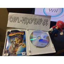 Madagascar 3 - Nintendo Wii - Frete Barato Mercado Envios