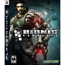 Jogo Ps3 Bionic Commando Original E Lacrado Mídia Física