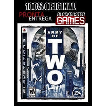 Ps3 - Army Of Two 1 - Mídia Física