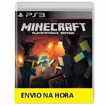 Jogo Para Ps3 Minecraft Midiadigital Original Envio Na Hora