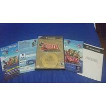 Jogo Game Cube / Wii Zelda Wind Waker Completo!!!